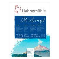 Bloc Oil & Acrylic Hahnemuhle 10 coli 230g