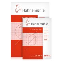 Bloc hartie milimetrica Hahnemuhle 50 coli 80:85g