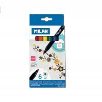 Set 6 carioci pentru textile, Milan