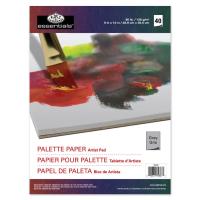 Palete de unica folosinta pentru culori acrilice si ulei, gri, RD347 Royal