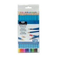Set 12 creioane acuarelabile, WPEN-12, Royal & Langnickel