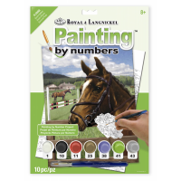 Set pictura pe numere, Royal Langnickel, 88 - Equine Paddock